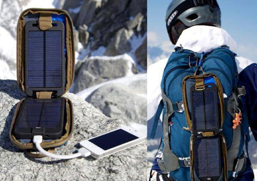 Solar powered mobile charging system