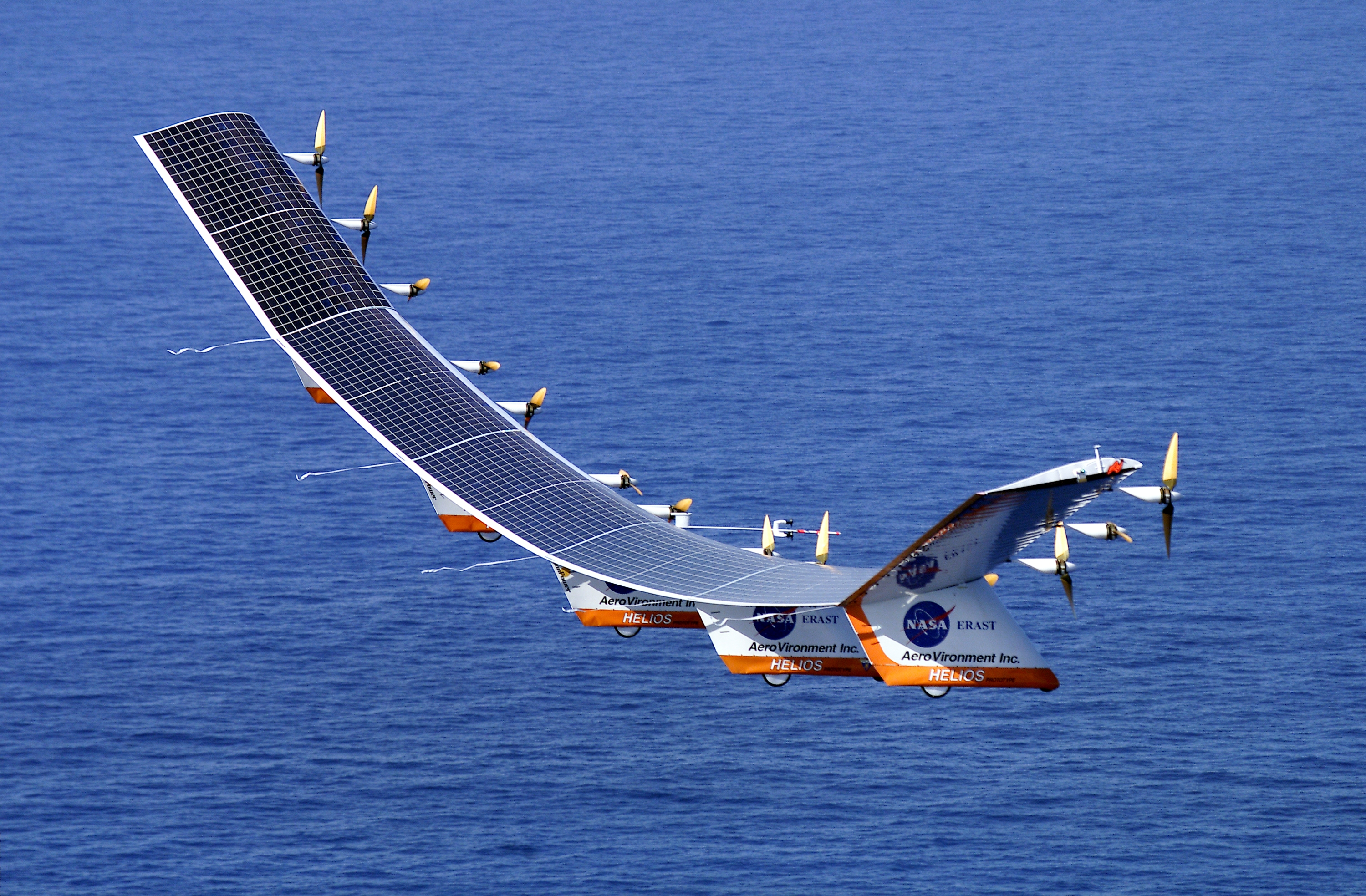 Solar Powered UAV from NASA