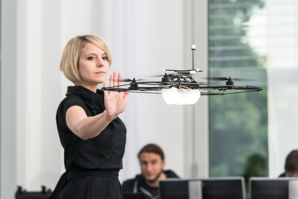 Gesture Recognition Technology makes possible things like gesture-controlled drones!