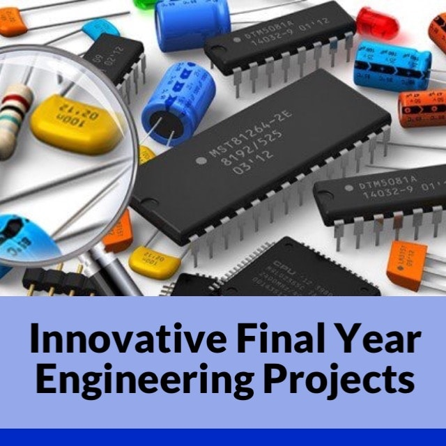 Best Internet of Things (IoT) Final Year Project Ideas for