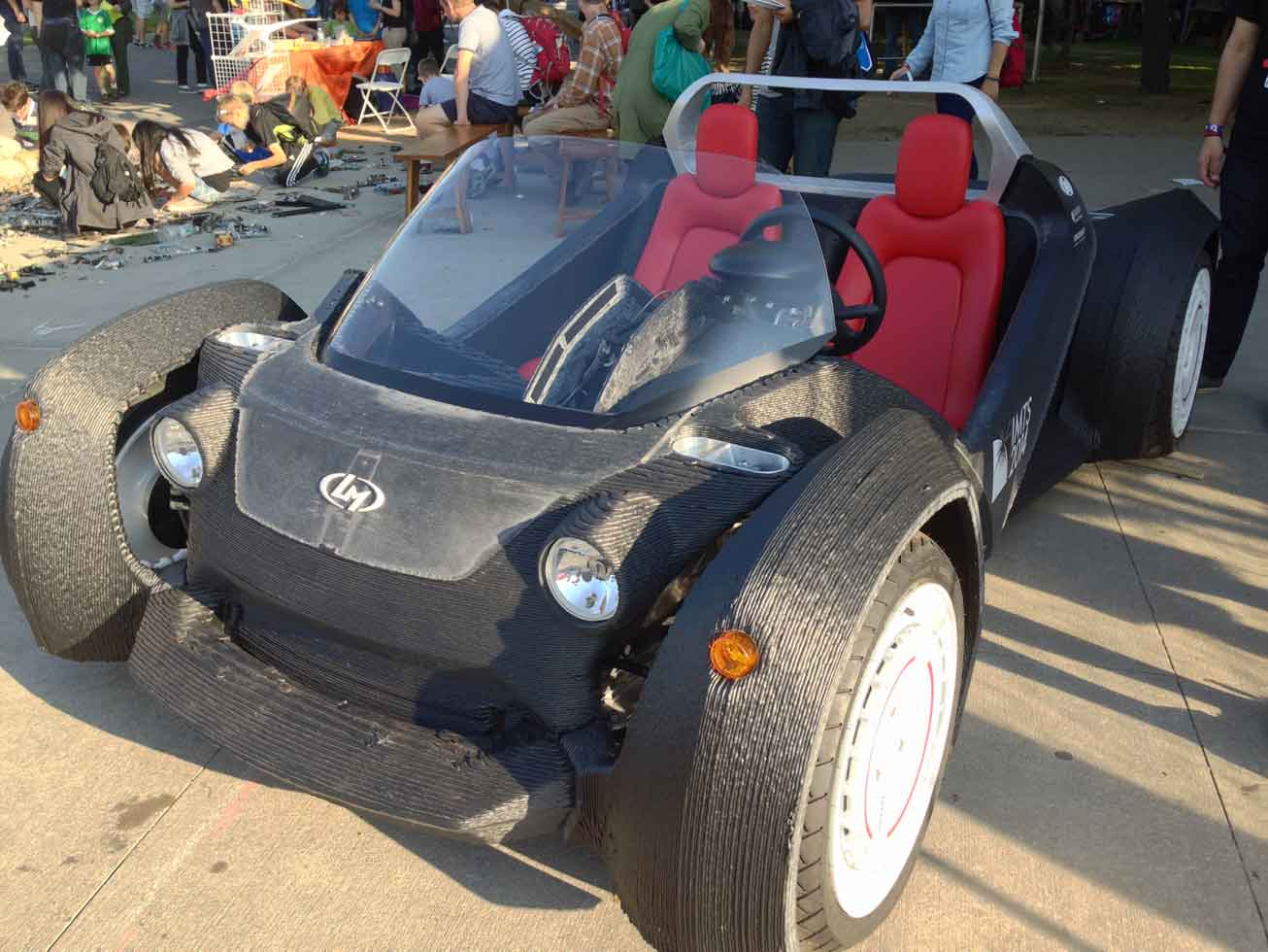 Interesting engineering innovations of 2014 for Local motors 3d printed car