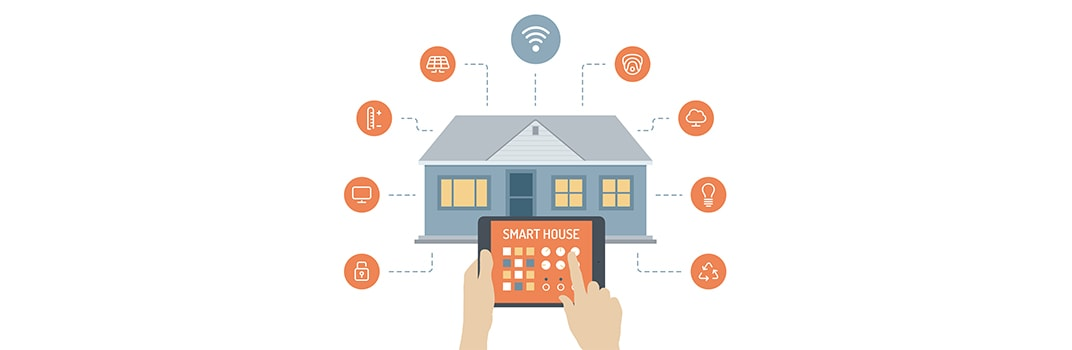 Smart Home Interface using GSM and IOT