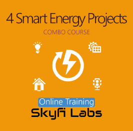 4 Smart Energy Projects Online Project Based Course (Combo Course)  at Online Workshop