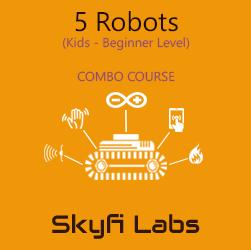 5 Robots Workshop for School Students