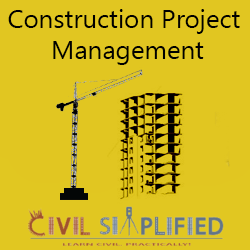 Construction Project Management Workshop Civil Engineering at Geethanjali College of Engineering and Technology Workshop