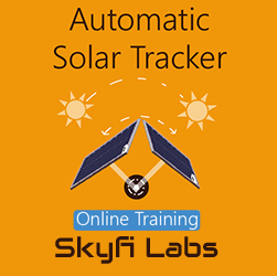 Automatic Solar Tracker Online Project based Course  at Online Workshop