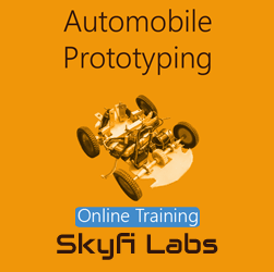 Automobile Prototyping Online Project based Course  at Online Workshop
