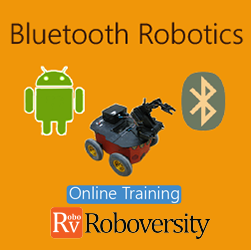 Bluetooth Robotics Online Project based Course Robotics at Online Workshop
