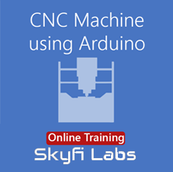 CNC Machine using Arduino Online Project Based Course