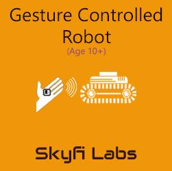 Gesture Robot Workshop for School Students