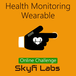 Health Monitoring Wearable Glove - A Challenge  at Online Workshop