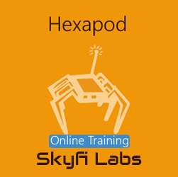 Hexapod using Arduino Online Project based Course  at Online Workshop