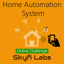 Home Automation System Project - A Challenge  at Online Workshop