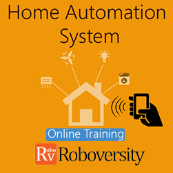 Home Automation System Online Project based Course  at Online Workshop