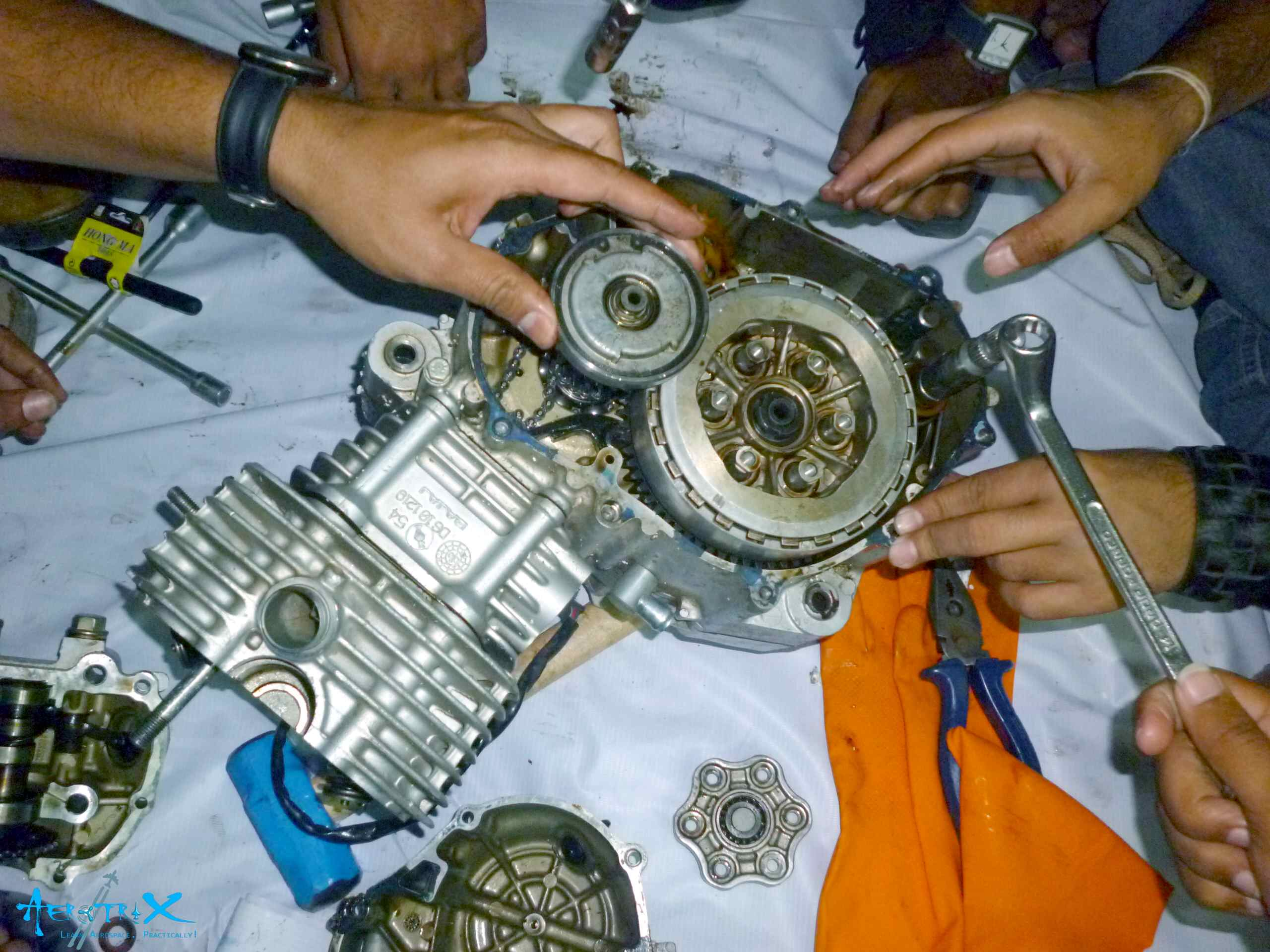 IC Engine Re-assembly