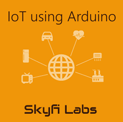 IoT using Arduino Workshop  at Skyfi Labs Center, Sujatha degree college, Abids