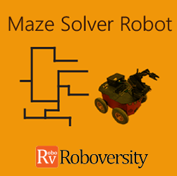 Maze Solver Robot Workshop  at Skyfi Labs Center