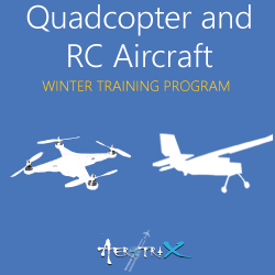Winter Training Program on Quadcopter and RC Aircraft  at Skyfi Labs Center, Sujatha degree college, Abids Workshop
