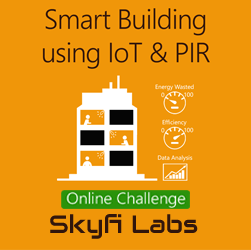 Smart Building using IoT & PIR Project - A Challenge