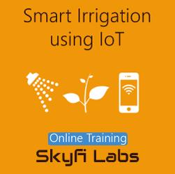 Smart Irrigation System using IoT Online Project Based Course  at Online Workshop