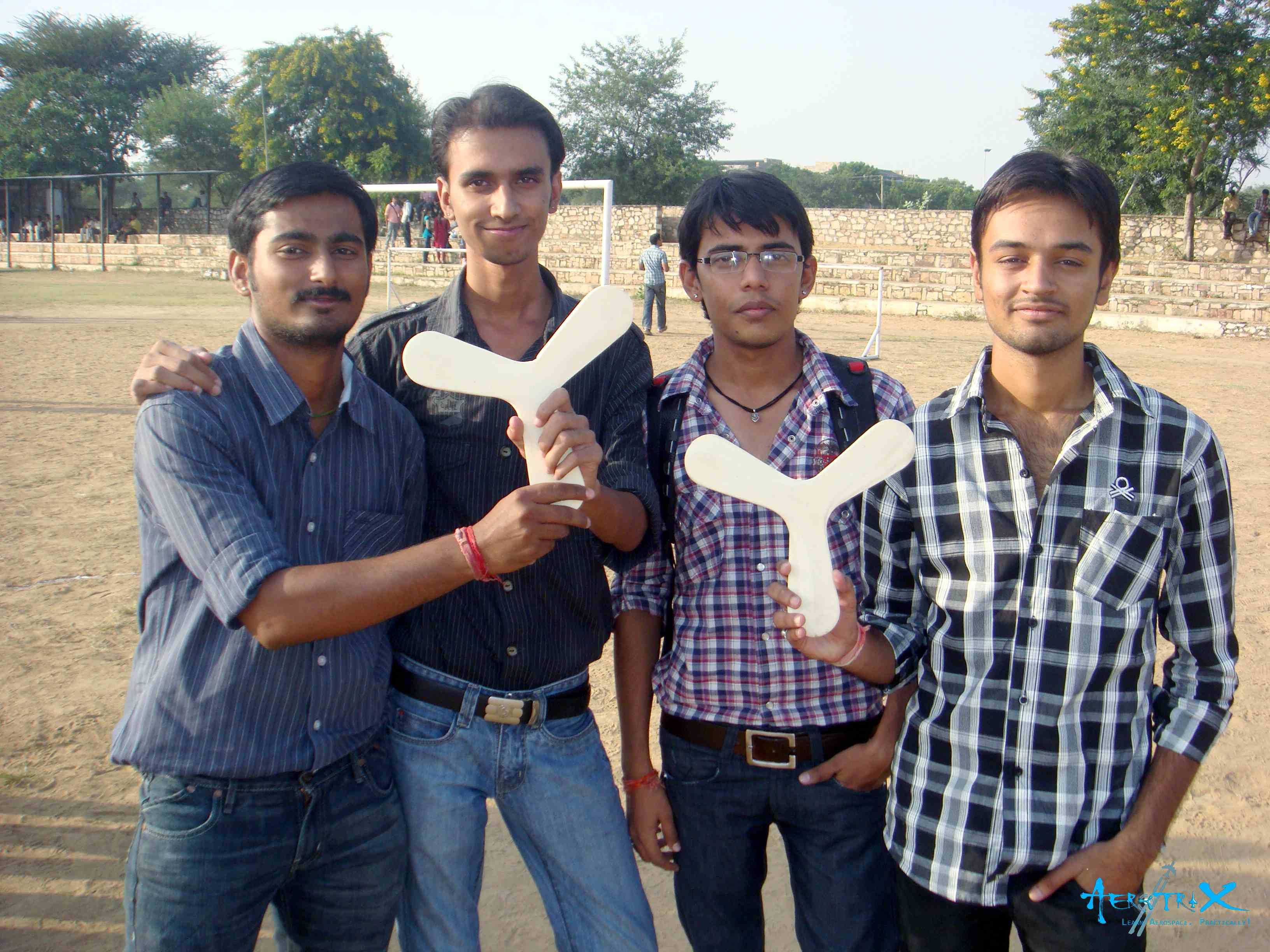 Students with their Boomerang