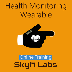 Health Monitoring Wearable Glove Online Project Based Course  at Online Workshop