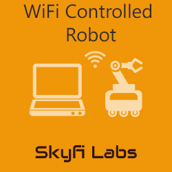 WiFi Controlled Robot Workshop  at Skyfi Labs Center, Sujatha degree college, Abids Workshop