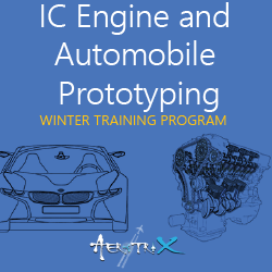 Winter Training Program on IC Engine and Automobile Prototyping  at Skyfi Labs Center, Gateforum, Vishal Mega Mart, VIP Road  Workshop