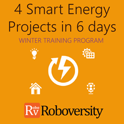 Winter Training Program on 4 Smart Energy Projects in 6 days in Chennai