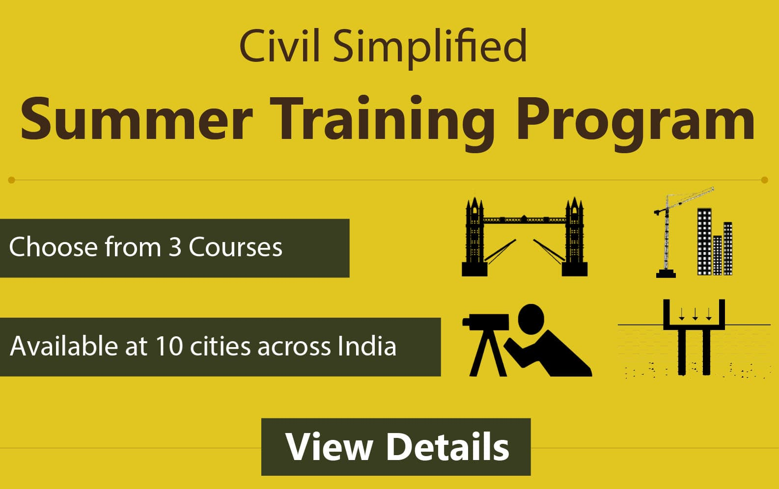 Civil Engineering Workshops and Projects