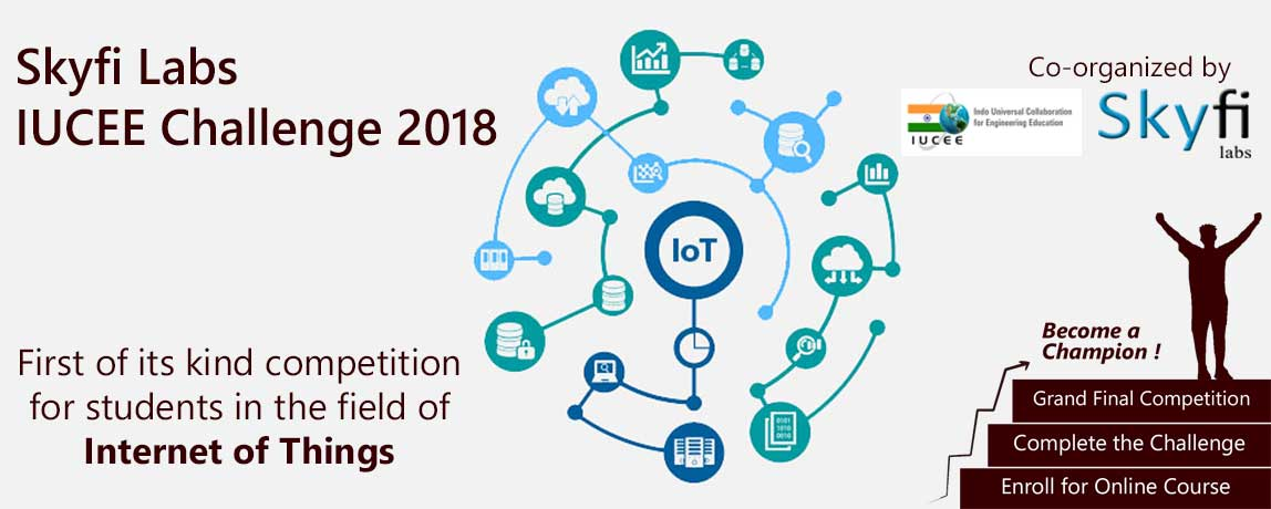 Biggest IOT Competition in India