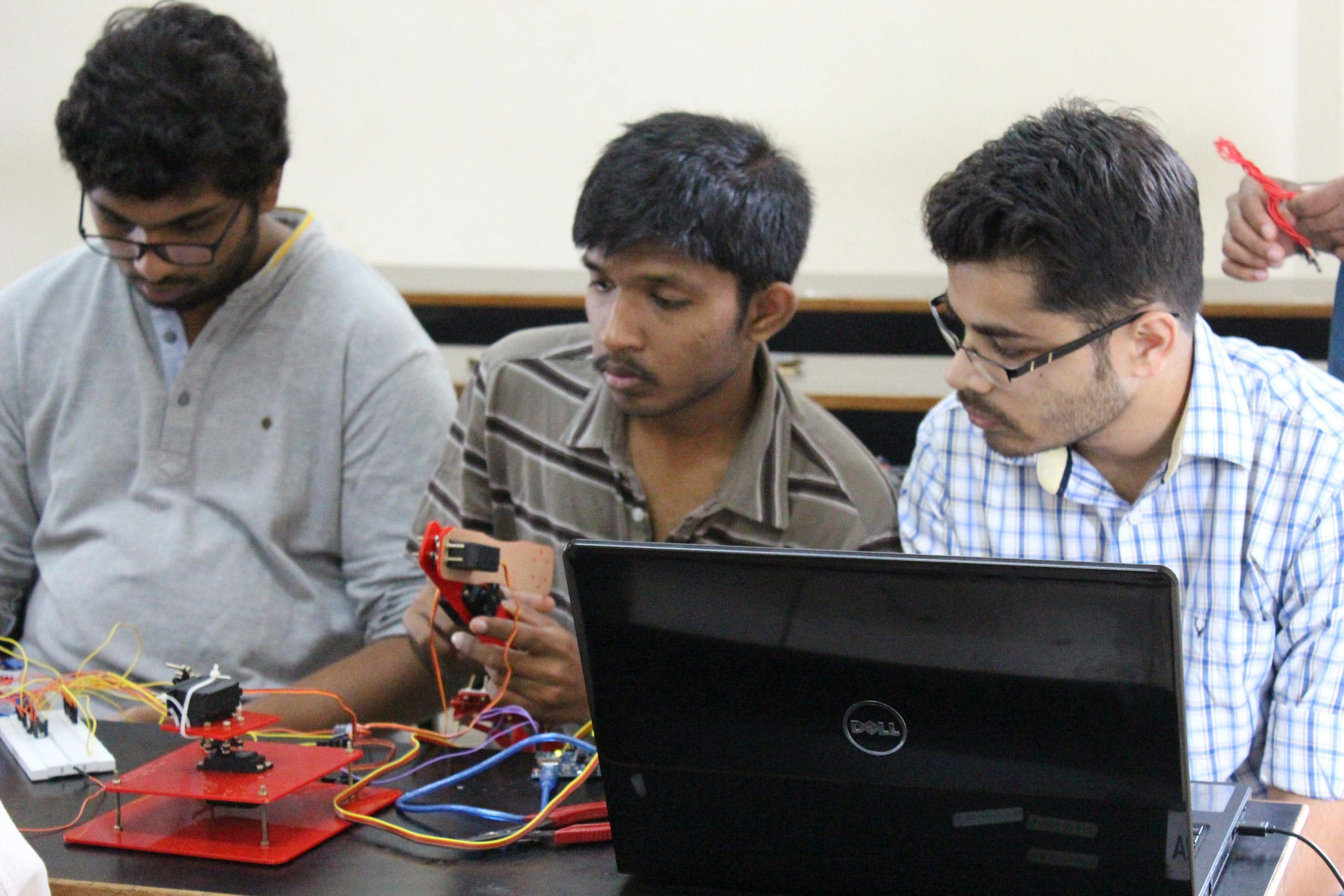 winter training program in mechatronics