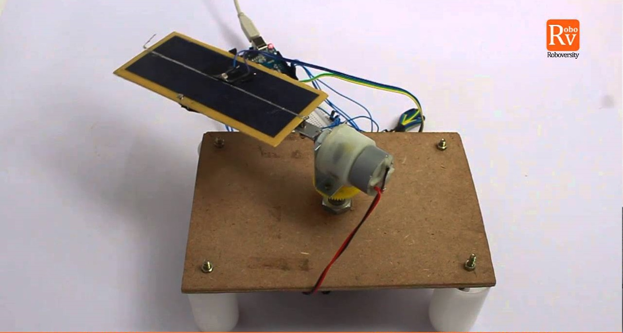 Automatic Solar Tracker Project for Engineering Students