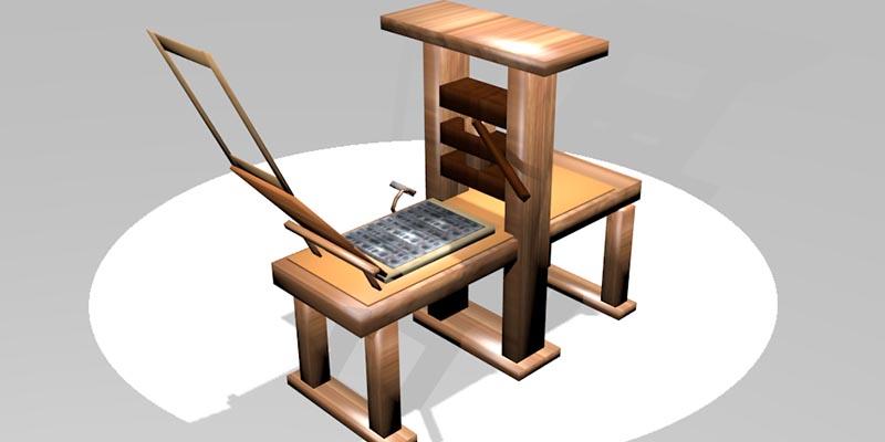3D Printed Etching Press