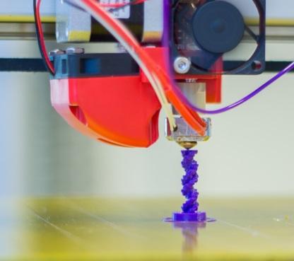3D Printer printing 3D object