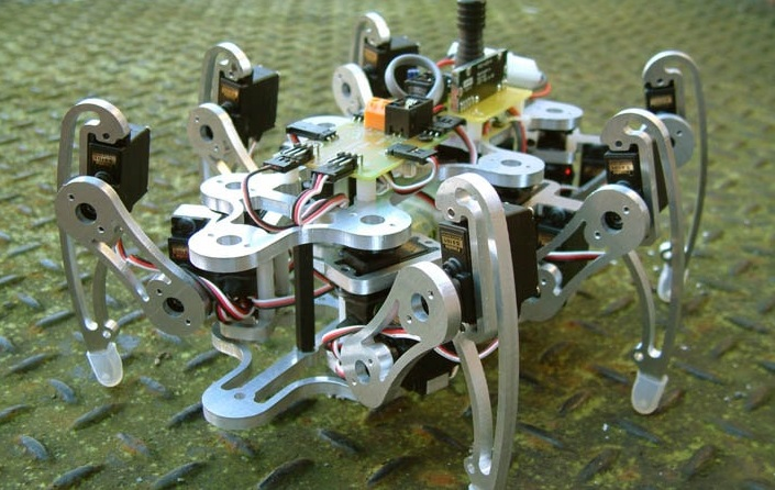 bluetooth controlled hexapod