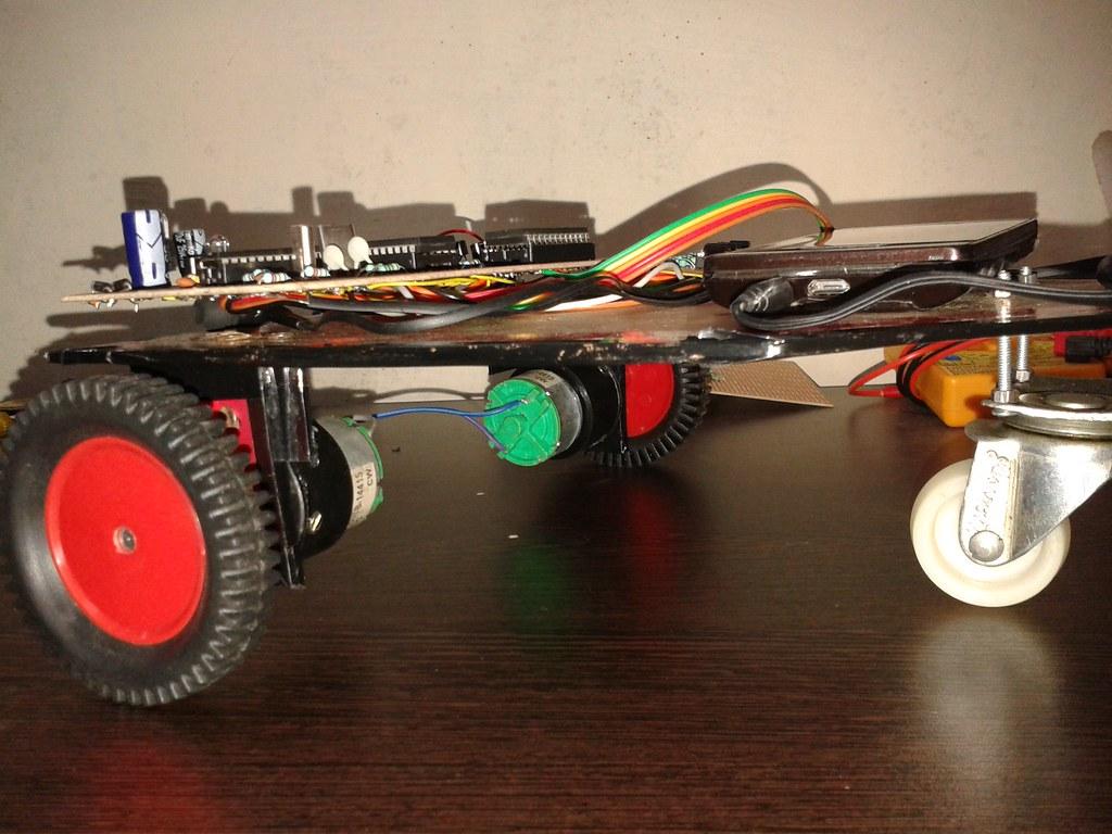 RF based Robotic Vehicle