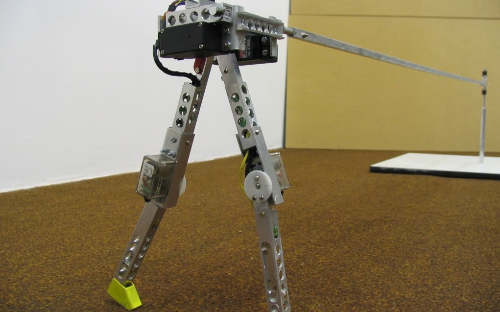 bipedal robot walking made simple