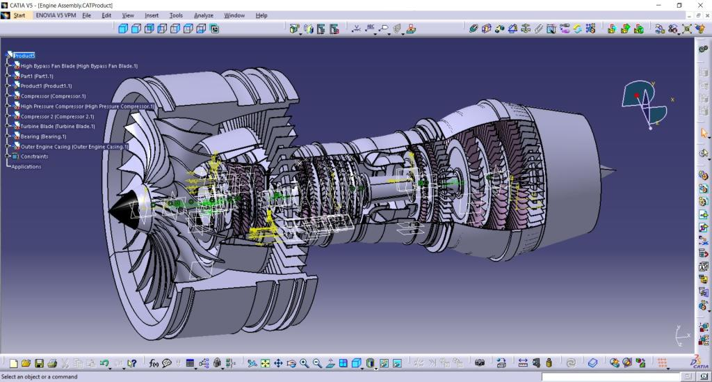 Latest Projects Based On Catia V5