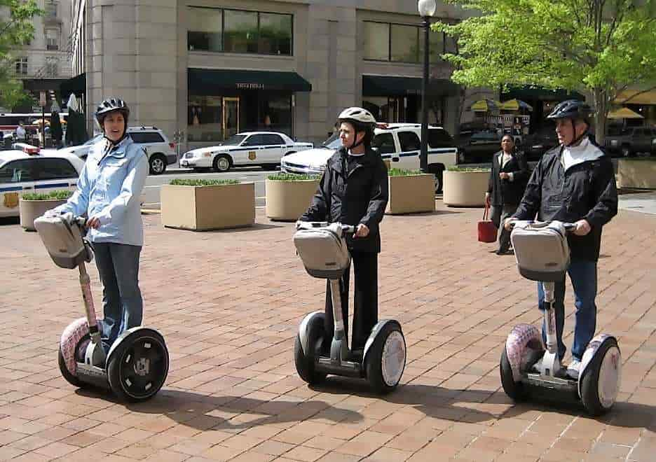 Design and Fabrication of Segway