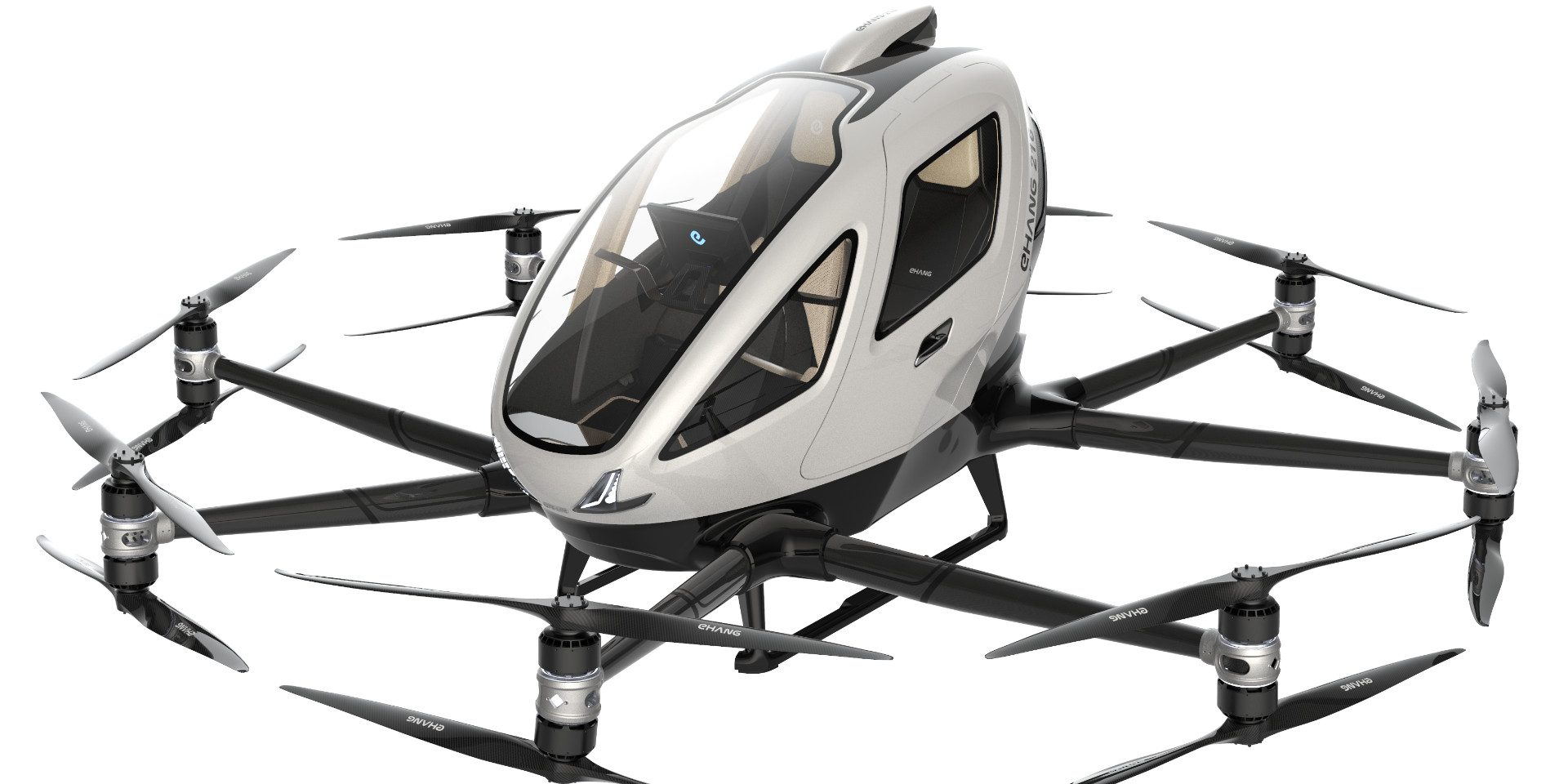 Drones for passenger transport (Drone taxi)