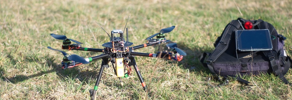 Drone with autopilot system