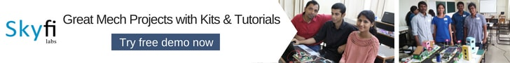 Great Mechanical Projects with Kits and Video Tutorials for Engineering Students