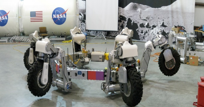 Athlete robot by NASA