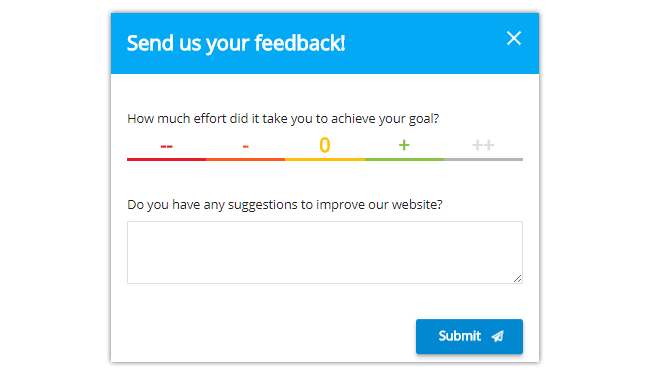 How to create a feedback form and receive an email