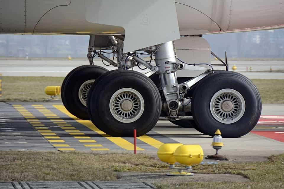 Landing gear stress analysis
