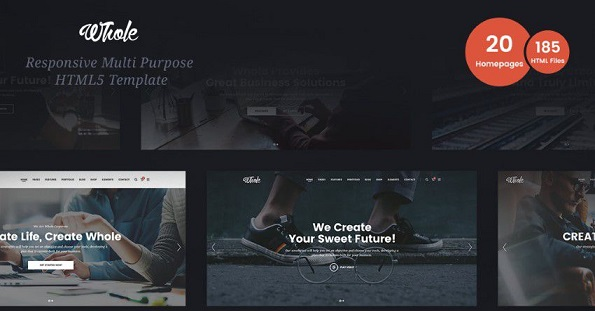 Multi page Responsive Website