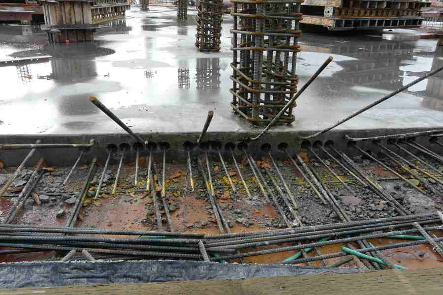 Post-tensioned Foundation Slab