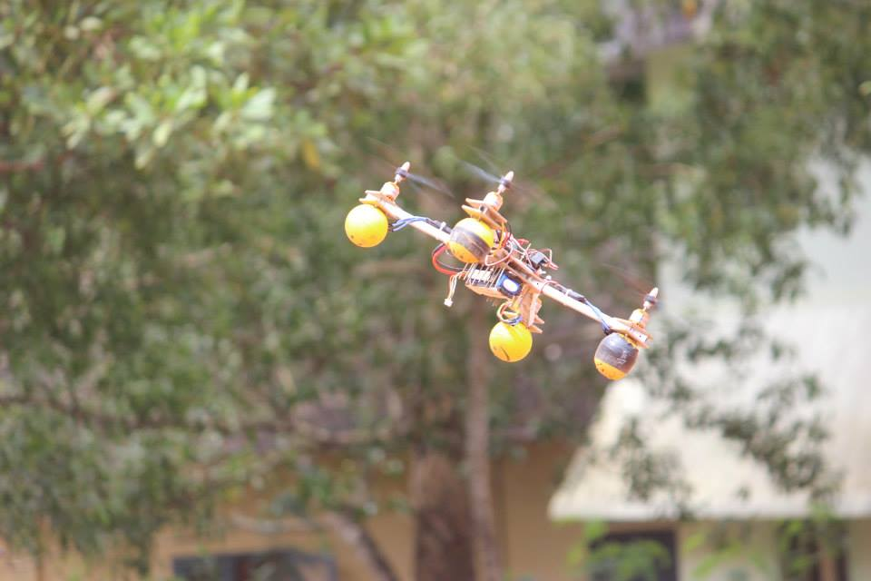 Flying Image of Quadcopter