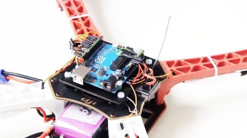 Quadrotor using Arduino